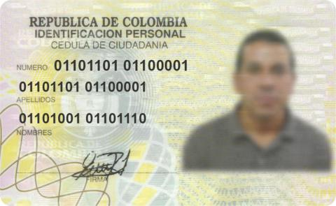 Colombia | Identity-Cards.net